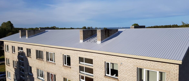 Profiilplekk-katuste ehitus